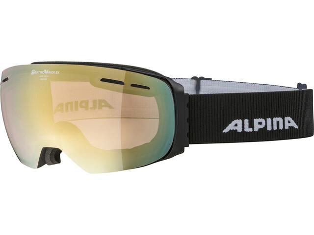 Alpina Granby QVM Brille black matt/lightgold